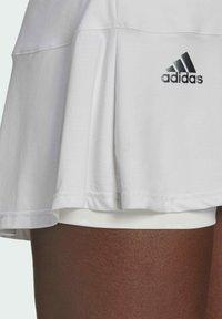 adidas Performance - TENNIS MATCH SKIRT - Sports skirt - white - 3