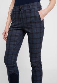 Mos Mosh - BLAKE CARLI PANT - Pantalones - mood indigo melange - 3