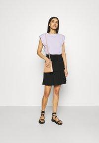 Pieces - PCNEORA SKIRT - A-line skirt - black - 1