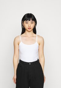ONLY Petite - ONLLOVE SINGLET 2 PACK  - Top - white/black - 3