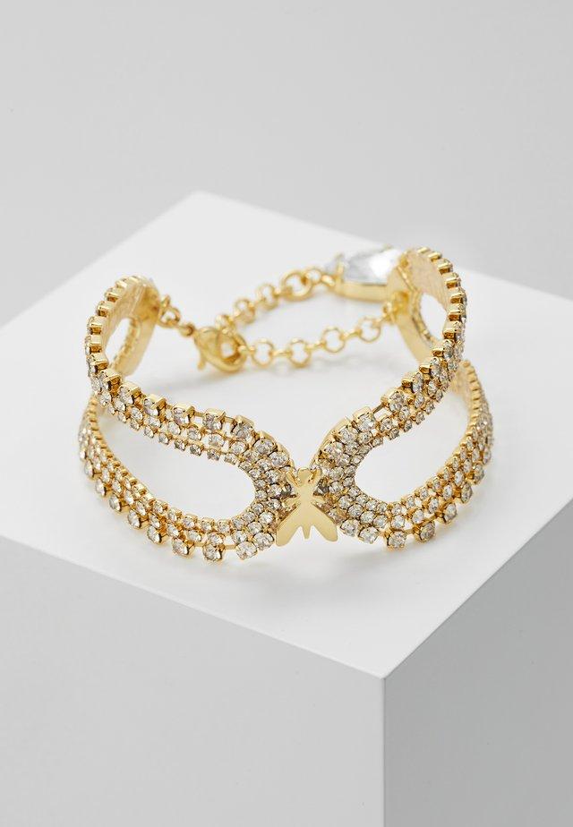 BRACCIALE CON PIETRE - Bracciale - gold-coloured/crystal
