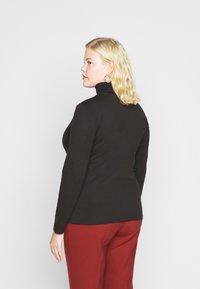 Even&Odd Curvy - 2 PACK - Long sleeved top - black - 2