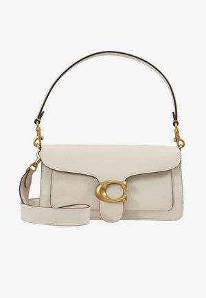 TABBY POLISHED SMALL FLAP BAG HANDBAG - Kabelka - chalk