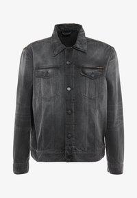 Nudie Jeans - JERRY - Denim jacket - black midnight - 4