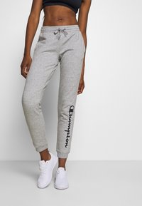 Champion - CUFF PANTS LEGACY - Tracksuit bottoms - mottled grey - 0