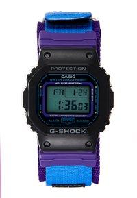 G-SHOCK - DW-5600 THROWBACK SET - Digitaal horloge - black/purple - 2