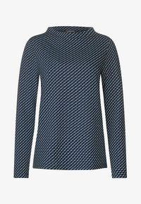 Street One - MIT STEHKRAGEN - Long sleeved top - blue - 4