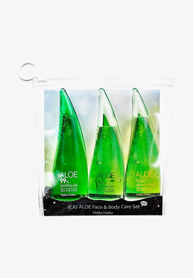 JEJU ALOE FACE AND BODY CARE - SET OF 3 - Bad- & bodyset - -
