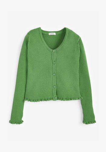 RIB - Cardigan - green