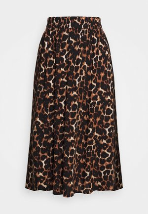 PCCARLA MIDI SKIRT - A-line skirt - silver mink