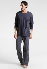 Schiesser - ANZUG LANG SET - Pyjama set - anthrazit - 0