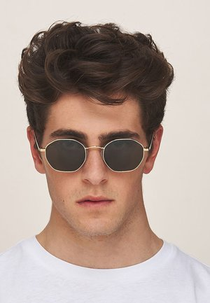 PRASLIN - Sunglasses - gold carbon