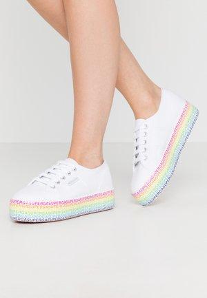 2790 MINILETTERING - Trainers - white/multicolor