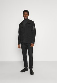 Superdry - CLASSIC ROOKIE  - Summer jacket - washed black - 1