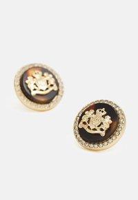 Lauren Ralph Lauren - CREST STUD - Earrings - gold-coloured/brown - 3