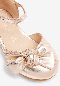 Next - Ankle strap ballet pumps - rose gold-coloured - 3