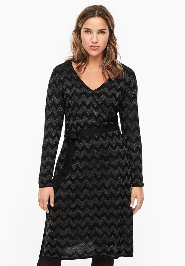 MIT MUSTER - Jumper dress - black
