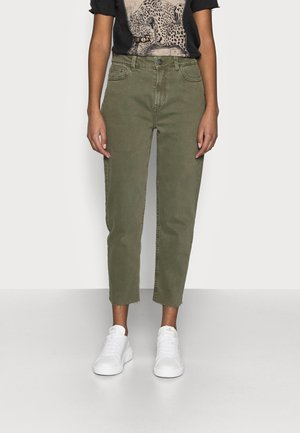 ONLEMILY LIFE RAW - Jeans straight leg - kalamata