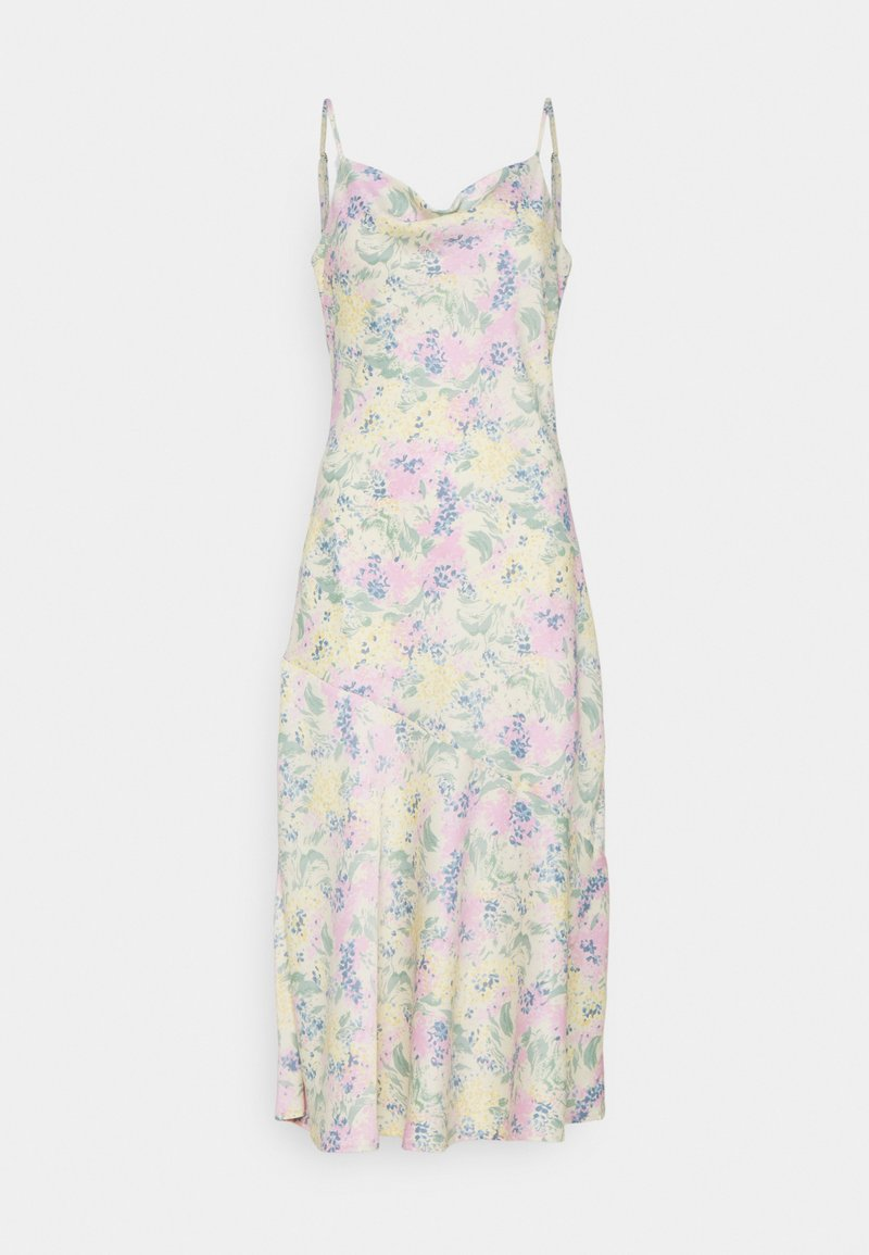 YAS - YASDOTTEA STRAP MIDI DRESS - Korte jurk - multi-coloured