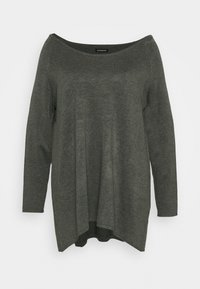 Even&Odd Curvy - Jumper - dark grey - 3
