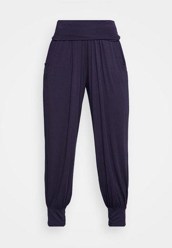 HAREM PANTS - Pantalones deportivos - blue night