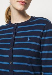 Polo Ralph Lauren - PIMA STRETCH - Cardigan - blue multi - 4
