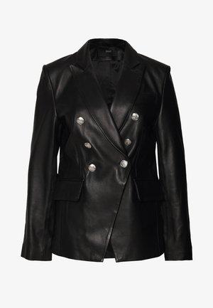 BROOKLYN LUXURY ROCKSTAR  - Kožená bunda - black