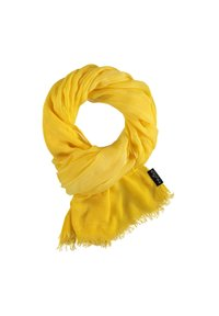 Fraas - Scarf - yellow camel - 2