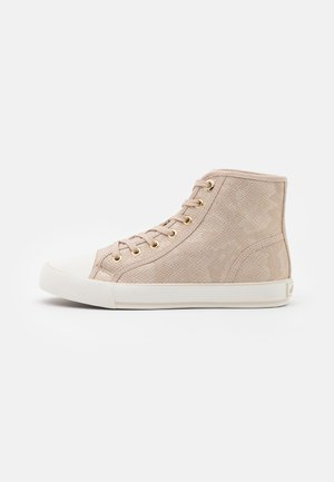 Sneakers alte - champagne
