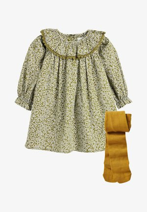 2 SET - Day dress - olive