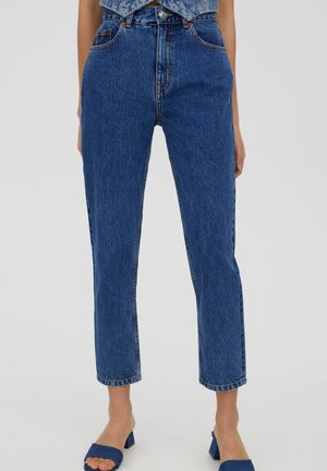 MOM - Jeansy Relaxed Fit - blue
