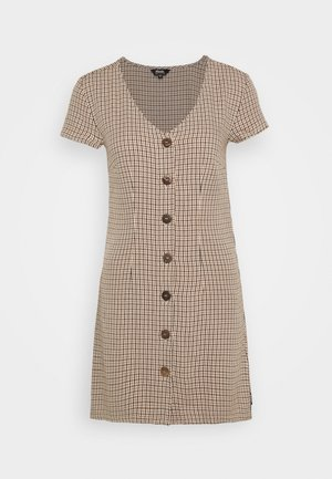 LONDON CALLING - Day dress - toffee
