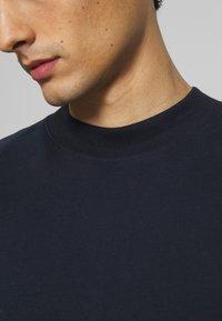 TOM TAILOR DENIM - HIGH COLLAR - Långärmad tröja - sky captain blue - 3