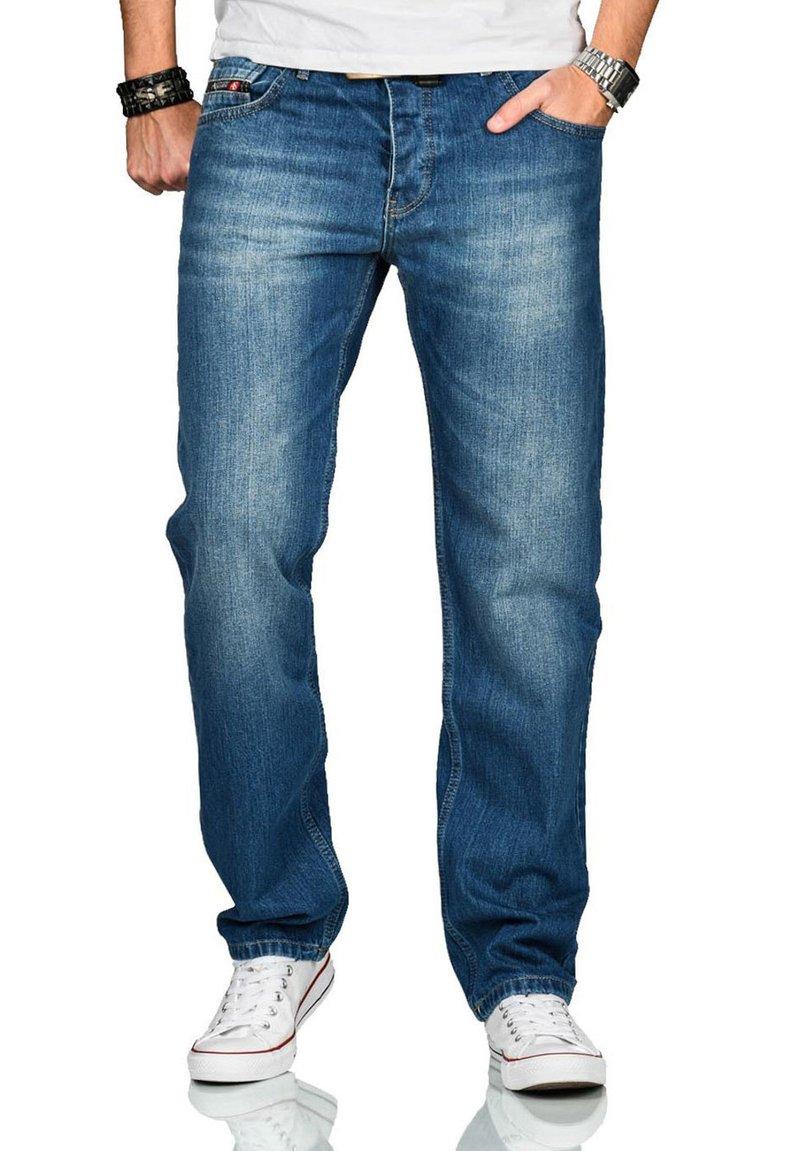 Alessandro Salvarini - Straight leg jeans - blau