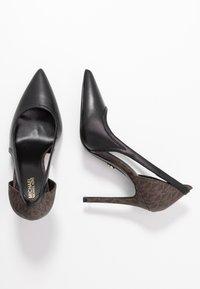 MICHAEL Michael Kors - NORA  - High heels - black/brown - 3