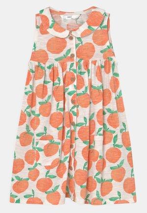 PEACH DRESS - Jersey dress - orange