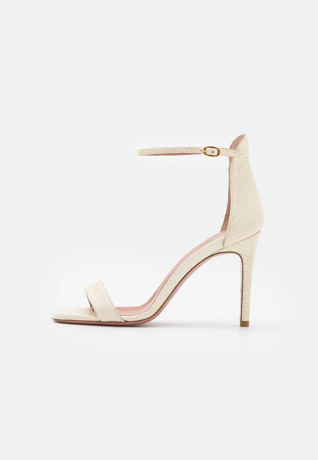 CALDA - Sandály na vysokém podpatku - tejus milk