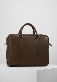 Pier One - LEATHER - Laptop bag - dark brown - 2
