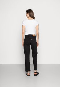 Levi's® - RIBCAGE STRAIGHT ANKLE - Straight leg jeans - black heart - 3