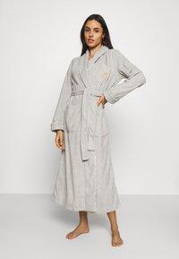 Lauren Ralph Lauren - LONG ROBE - Dressing gown - grey - 0