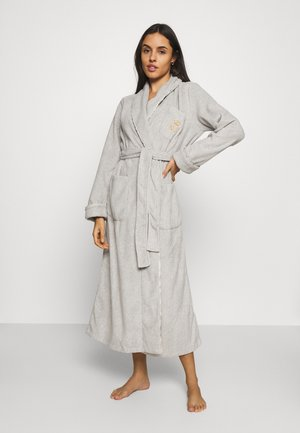 LONG ROBE - Dressing gown - grey