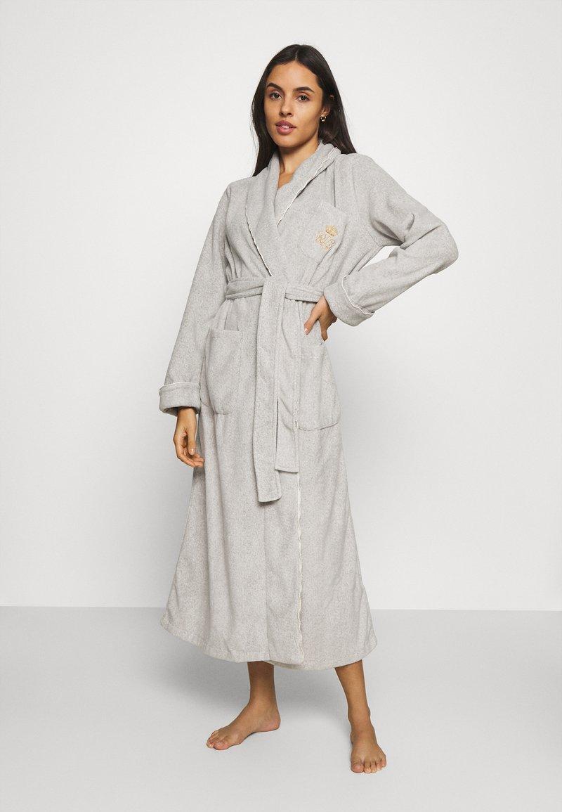 Lauren Ralph Lauren - LONG ROBE - Dressing gown - grey