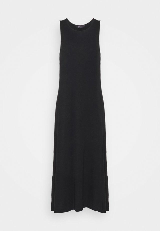 MIDI SWING DRESS - Maxi šaty - black