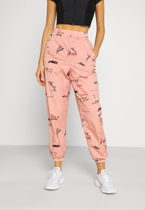 TRACK PANT - Tracksuit bottoms - trace pink