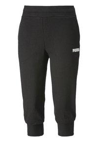 Puma - Tracksuit bottoms - cotton black - 0