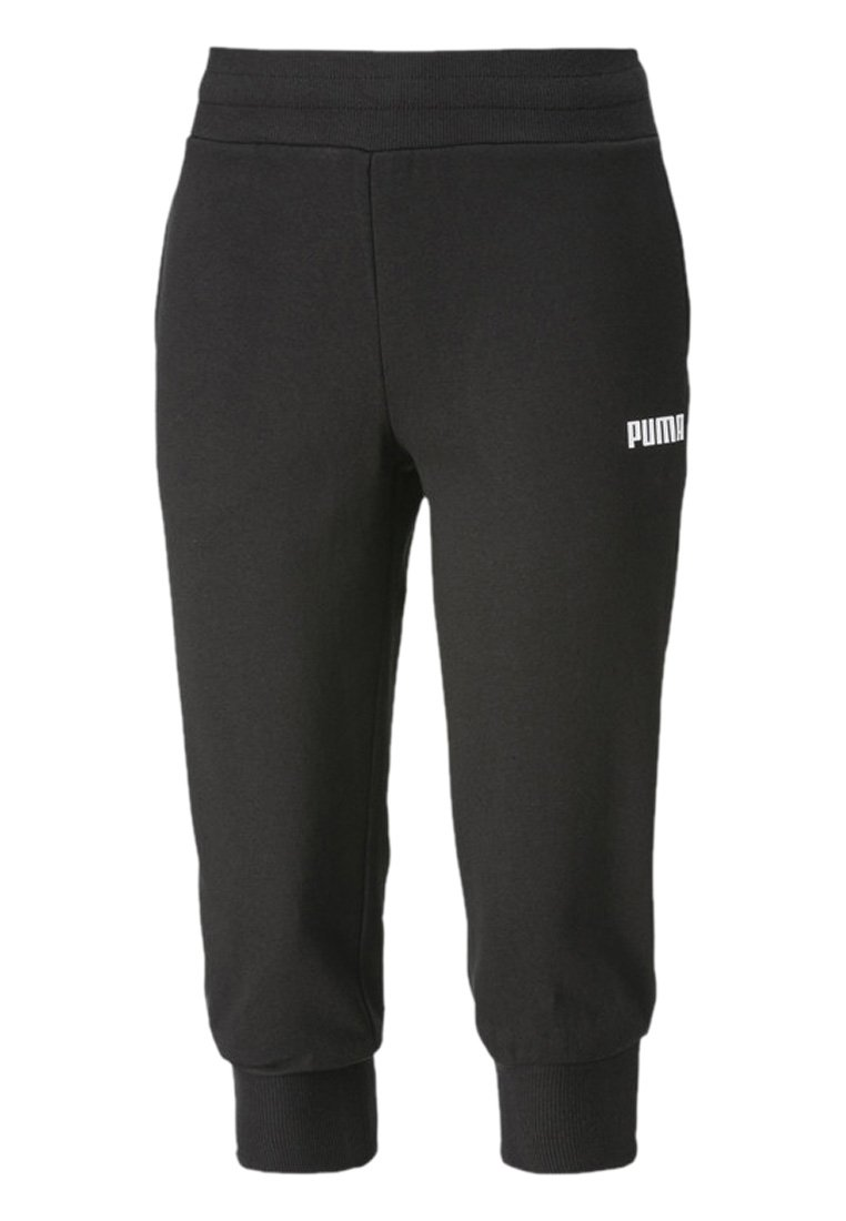 Puma - Tracksuit bottoms - cotton black