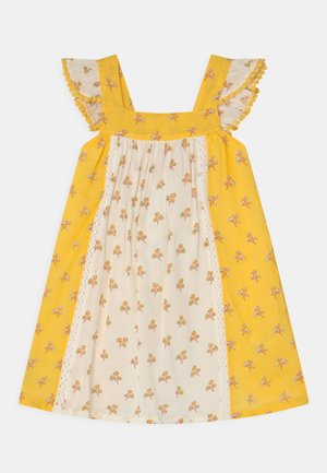 WOVEN CAMI - Day dress - yellow