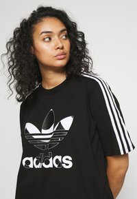 adidas Originals - TEE DRESS - Vestido ligero - black - 3