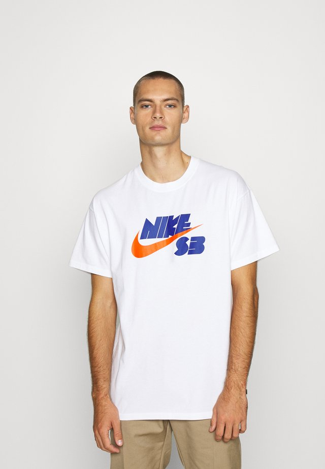 TEE LOGO UNISEX - T-shirt con stampa - white