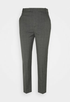 TROUSERS POLLY CHECK - Bukser - grey